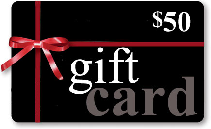 $50 Gift Certificate (Store Credit)